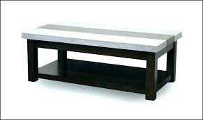 cement coffee table cool black and grey rectangle industrial idea cb2 white round