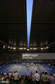australian open roof rod laver arena melbourne park stock photos and pictures getty
