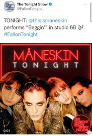 Yeah, beggin for them to be able to perform one of their original songs : r/ Maneskin