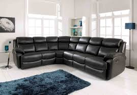 furniture amusing full grain leather sofa with rea rug and window
