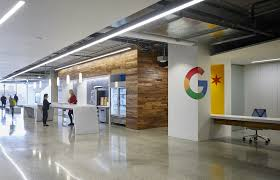 google office interior. Chicago Google Office Interior
