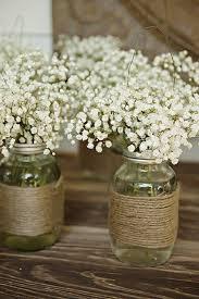 25 ideas para que tu boda sea nica e INOLVIDABLE. Wedding Table  CenterpiecesWedding TablesMason Jar ...