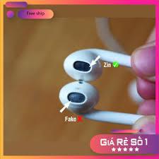 Tai Nghe Iphone 6/6S ⚡FREESHIP⚡ Tai nghe Iphone 6/6S ZIN Bóc Máy Có Hộp ⚡  Bảo Hành 6 Tháng ⚡Tặng 1 Bao Đựng Tai Nghe - Tai nghe có dây nhét tai