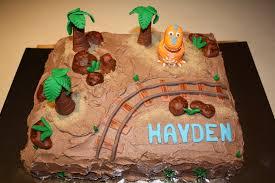 Dinosaur Train Birthday Cake Cakecentralcom