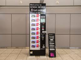 Japan Sim Card Vending Machine Stunning SIM Card Vending Machine|Sendai International Airport CoLtd