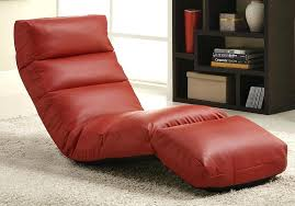 gaming floor chair gamer floor lounger chair red leatherette floor rocker gaming chair opp 20 wired