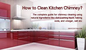 how to clean kitchen chimney easily at