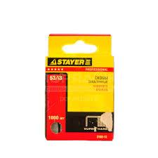 <b>Скоба</b> для степлера <b>53 тип Stayer</b> закаленная 1000 шт, 12 мм в ...
