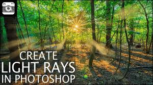 Add Light Rays In Photoshop Create Light Rays In Photoshop