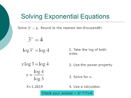 7 solving exponential