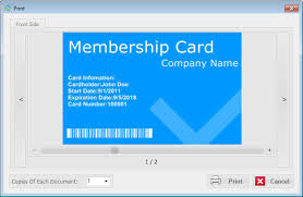 Membership Id Cards Templates
