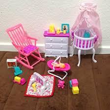 barbie size dollhouse furniture set. Barbie Size Dollhouse Furniture- Gloria Baby Home Nursery Set Furniture I