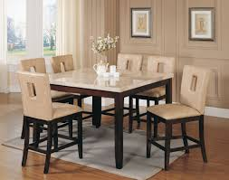 modular dining room. Gorgeous Dining Room Design With Marble Counter Tall Table : Fantastic Decoration Modular