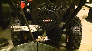 How to Change Engine Oil In Tecumseh Snow King 8-10HP Engines - YouTube