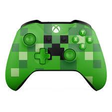 Tay Cầm Xbox One S Wireless Minecraft Creeper - shoptrongnghia