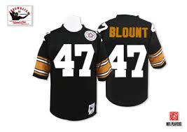 Authentic Black Pittsburgh Sale Men's Blount 47 Mel Jersey - Throwback Jerseys Football Steelers Home