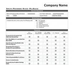 Restaurant Employee Performance Evaluation Form Wondrous Employee Evaluation Forms Templates Template Ideas