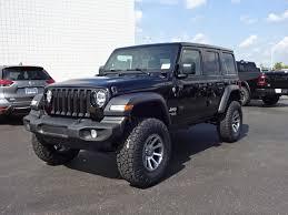 new 2018 jeep wrangler sport 4 door 4x4 lifted
