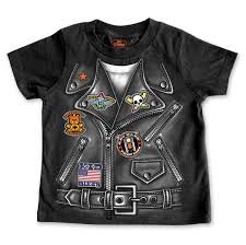 hot leathers boy s leather jacket black t shirt