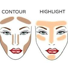 the difference between contour and highlight is very crucial contouring is where you use makeup to shape and outline your structure and