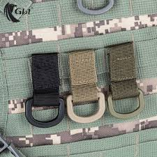 bushcraft <b>Outdoor tactical nylon</b> webbing hang buckle hook MOLLE ...