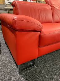 high quality leather recliner headrest sofa