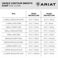 Ariat Concord Chaps Size Chart Ariat Unisex Concord Smooth Chaps