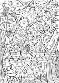 Small Picture Animal coloring pages for kids Leopard frog Frogs Free