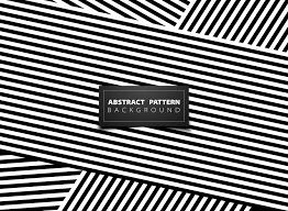 Line Pattern Design Abstract Black And White Op Art Stripe Line Pattern Design