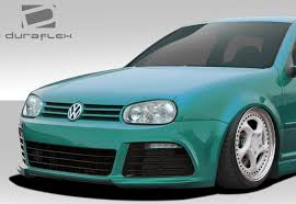 99-05 Volkswagen Golf R Look Duraflex Front Body Kit Bumper ...