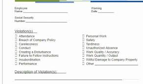 Restaurant Write Up Forms Floridaframeandart Com Various Employee Write Up Form Sample