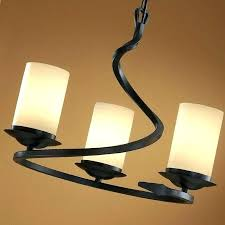 ceiling lights wrought iron ceiling light fixtures lights industrial bulb 8 with three glass shades