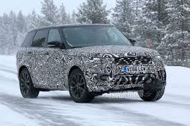 2018 land rover range rover hse. contemporary 2018 spied updated 2018 land rover range sport in the snow for land rover range hse