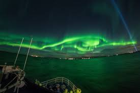 Reykjavik Harbour Light The Northernlights By Boat Tour Is On Tonight Sailing