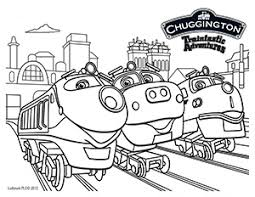Small Picture Chuggington Coloring Sheet Submit to our FB page for a chance to