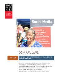 PDF) 60+ Online: Engaging seniors through social media & digital stories |  Jessamy Gleeson - Academia.edu