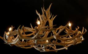 very nice large antler chandelier lamps made of antlers antler chandelier de jachtkamer
