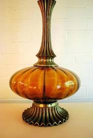 glass light pendants colored glass lamps vintage amber colored glass tall lamp by coloured glass light