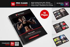Gym Brochure Fitness GYM Brochure Template 24 Brochure Templates Creative Market 5