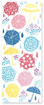 雨降り 夏の風物詩 ジカンスタイル オンラインショップ 印花圖騰