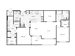 >36sixty floor plans 1 2 bedroom luxury apartments houston texas 2 bedroom