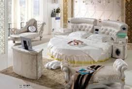 round bed furniture. Modular Home Furniture Italy Leather Round Bedroom Bed Round Bed Furniture