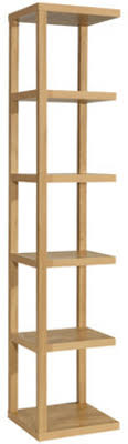... Narrow Shelving Unit Stainless Steel Shelving With Display Shelves  Pottery Barn For Outdoor And ...