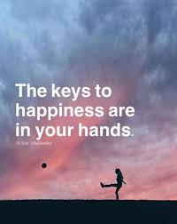 Quotes About Hands Mesmerizing Inspirational Positive Quotes The Keys To Happiness Are In Your