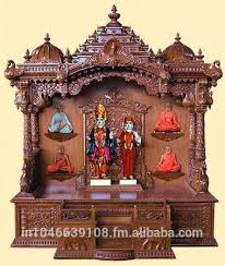 temple decoration ideas for home spectacular wooden home temple design in creative small decoration ideas with