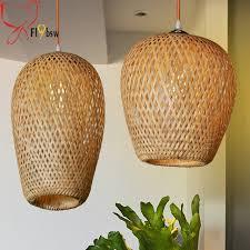 handmade lighting fixtures. Chinese Style Handmade Bamboo Pendant Lights Southeast Asia Brief  Restaurant Aisle Vintage Industrial Lighting Fixtures I