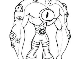 Ben 10 Coloring Pages Games Zupa Miljevcicom