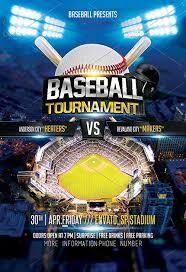 Free Baseball Flyer Template Baseball Tournament Flyer Template Sportflyertemplates