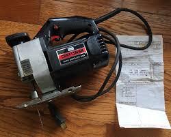 craftsman jig saw. vtg sears craftsman 1 1/2 hp auto scroller jig saw bar kit 315.1729 sabre g
