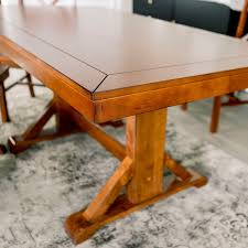 Shop 60 Trestle Dining Table On Sale Free Shipping Today